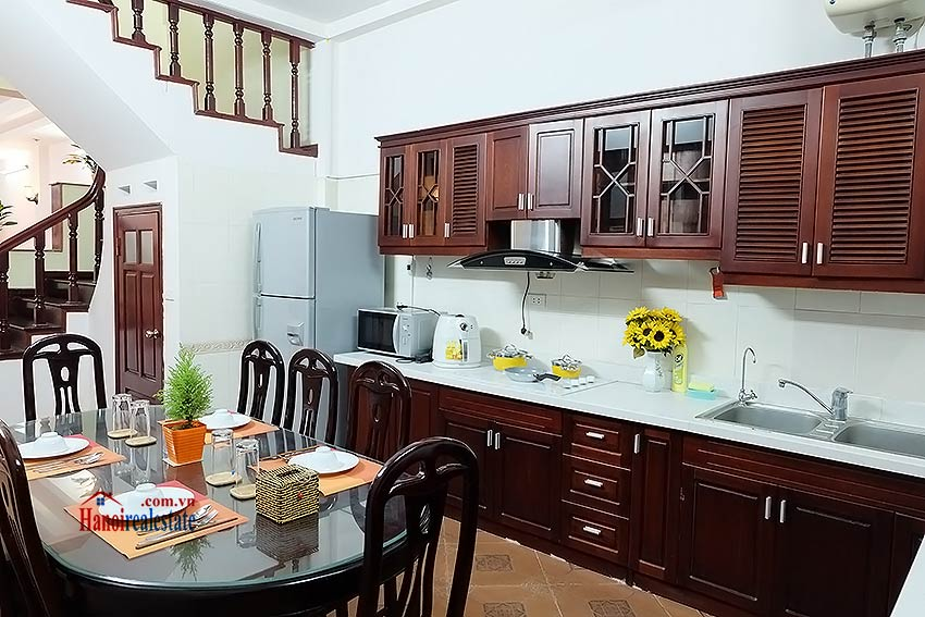 House 3BR in Ba Dinh, fully furnished 6