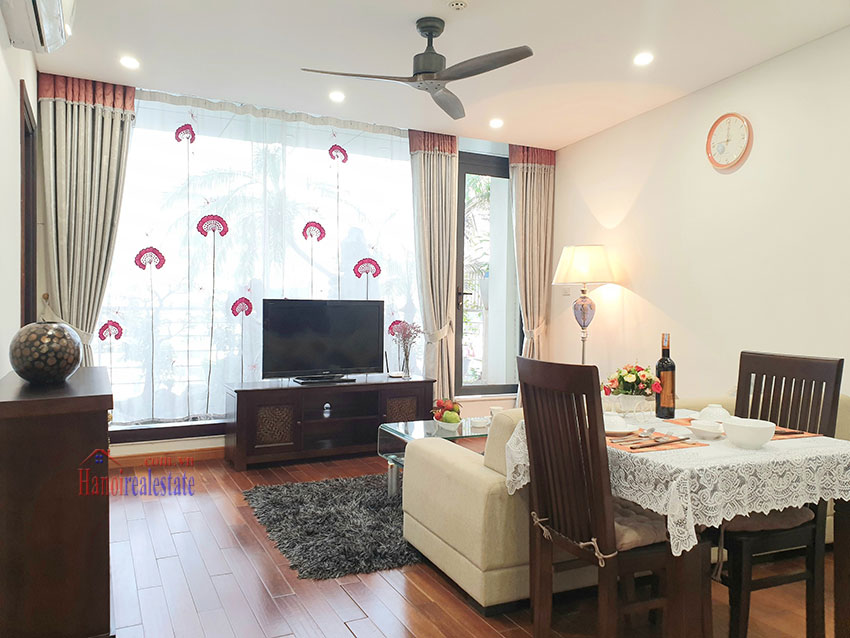 Japanese-style apartment, 02 bedrooms, 02 bathrooms for rent in Kim Ma 1