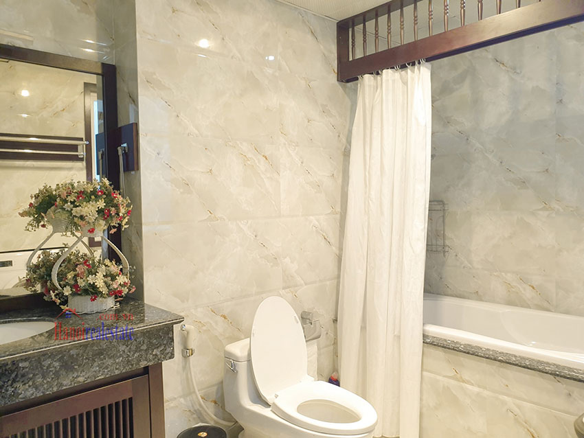 Japanese-style apartment, 02 bedrooms, 02 bathrooms for rent in Kim Ma 11