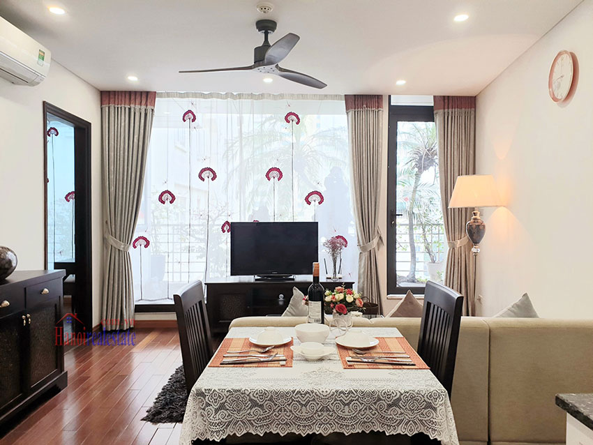 Japanese-style apartment, 02 bedrooms, 02 bathrooms for rent in Kim Ma 2