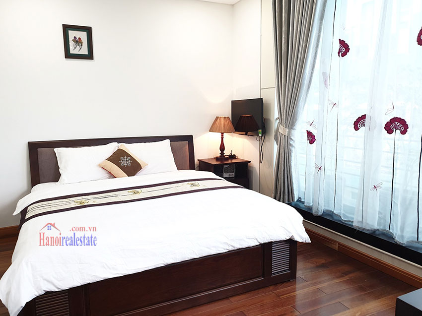 Japanese-style apartment, 02 bedrooms, 02 bathrooms for rent in Kim Ma 7