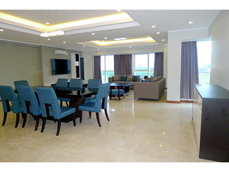 Spacious modern Luxury 4BR apartment for rent at L block ciputra Hanoi