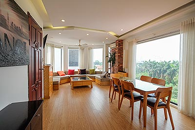 Just available Two bedroom Duplex apartment in 12 Dang Thai Mai