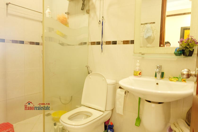 Lake front 04BRs house for rent at Nguyen Dinh Thi St, Ba Dinh District 9