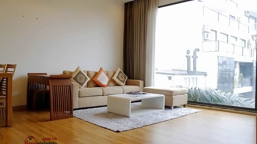Lake view 1-bedroom apartment for rent in Ba Dinh, close to Lotte Center Hanoi 2