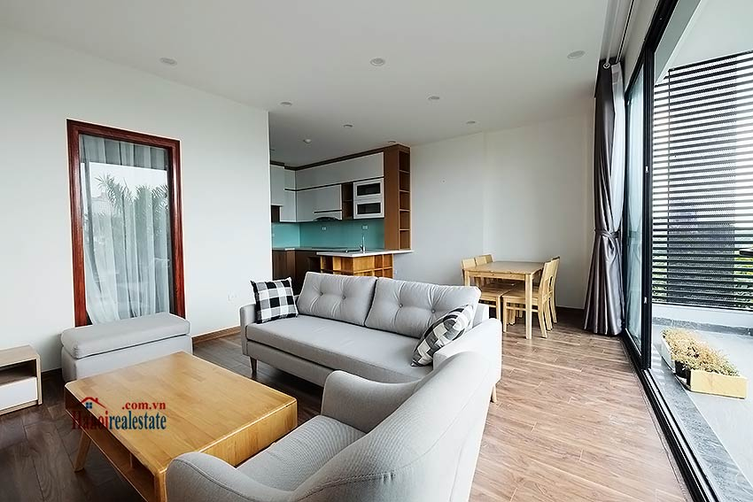 Lake view 2 bedroom apartment in Truc Bach, modern style & balcony 8