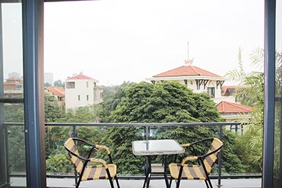 Lake view duplex apartment to let on Quang Khanh, Tay Ho Westlake, Hanoi