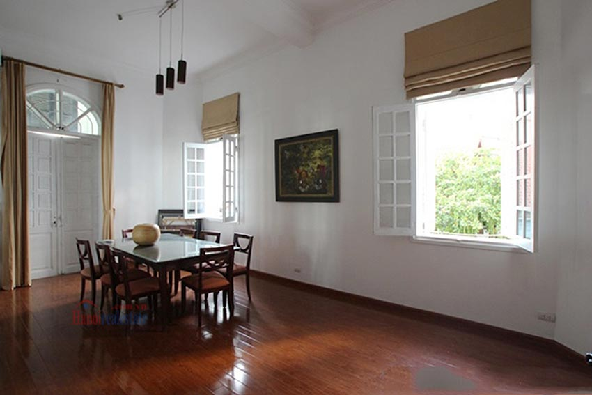 Charming Lake View house for rent in Nghi Tam, Tay Ho, Hanoi 17