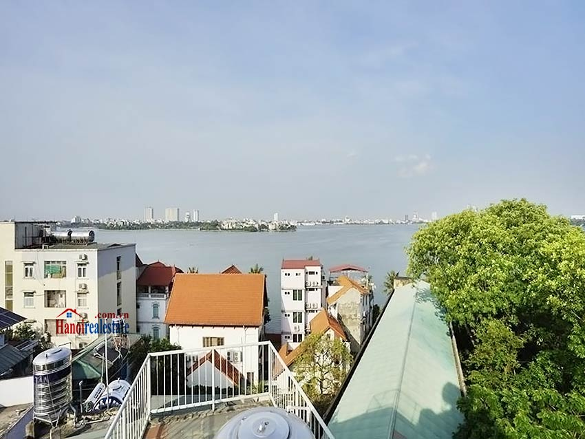Lake view terrace – Duplex 2 bedroom penthouse to lease in Vong Thi, Tay Ho 22