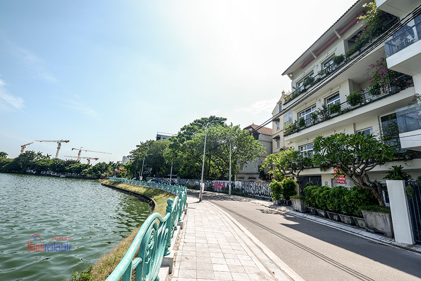 Modern Lakeside House Rental In Quang Khanh Str, Tay Ho, 4 Bedrooms 1