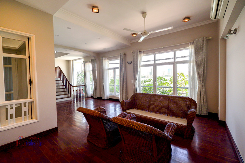 Modern Lakeside House Rental In Quang Khanh Str, Tay Ho, 4 Bedrooms 6