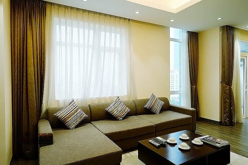 Lakeview apartment in DMC Tower - Ba Dinh District, 03 bedrooms 2