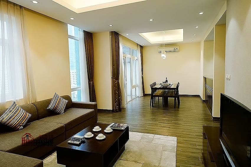 Lakeview apartment in DMC Tower - Ba Dinh District, 03 bedrooms 3