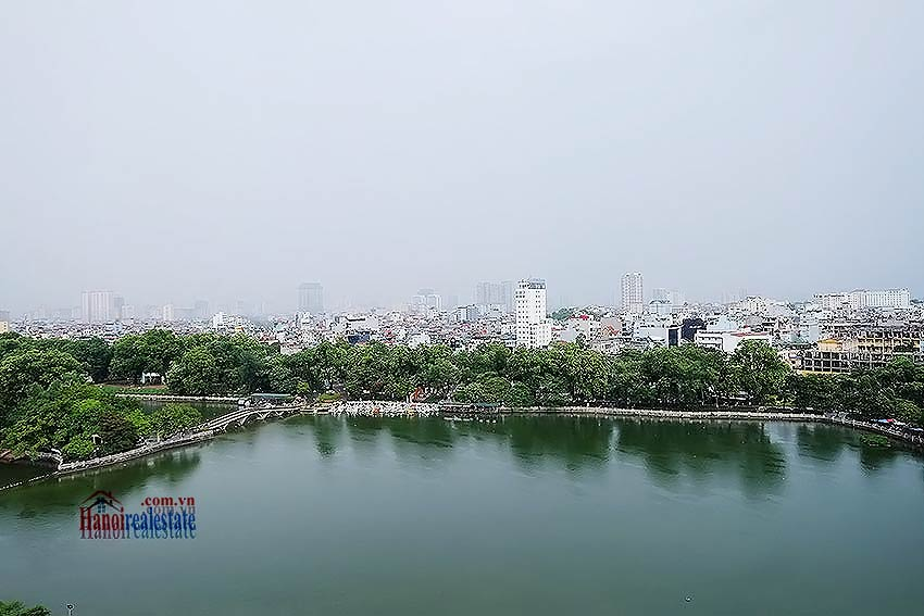 Lakeview apartment in DMC Tower - Ba Dinh District, 03 bedrooms 4