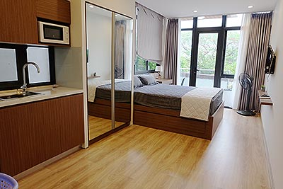 Lakeview studio serviced apartment in Nguyen Dinh Thi St