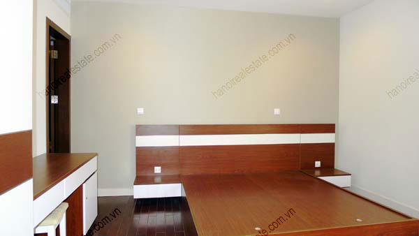 Lancaster Hanoi furnished apartment for rent on high floor, 3 bedrooms 16