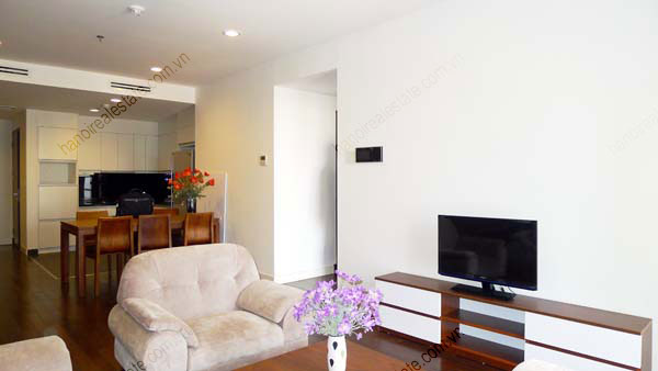 Lancaster Hanoi furnished apartment for rent on high floor, 3 bedrooms 6