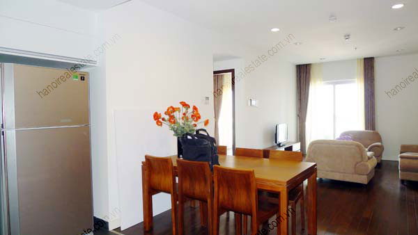 Lancaster Hanoi furnished apartment for rent on high floor, 3 bedrooms 7