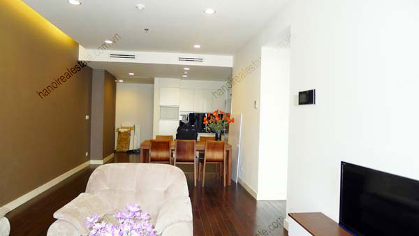 Lancaster Hanoi furnished apartment for rent on high floor, 3 bedrooms 8