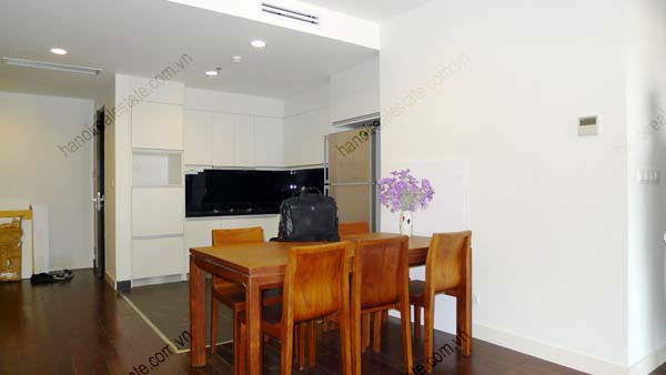 Lancaster Hanoi furnished apartment for rent on high floor, 3 bedrooms 9