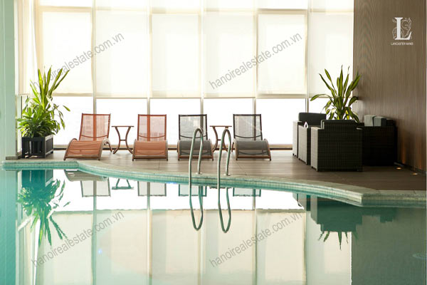 Lancaster Hanoi Apartments with indoor pool for rent