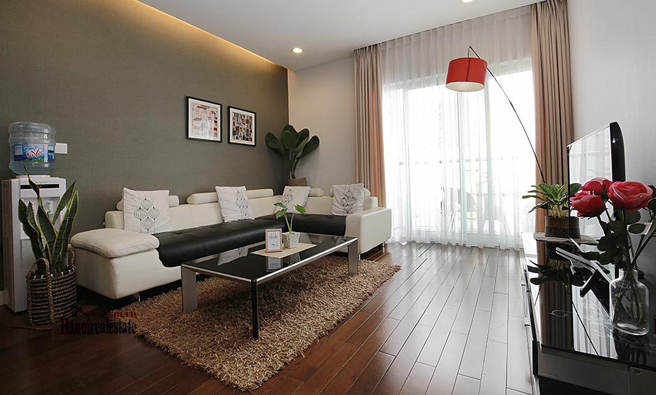 Lancaster: Luxurious 03BRs apartment with Giang Vo lake view 2
