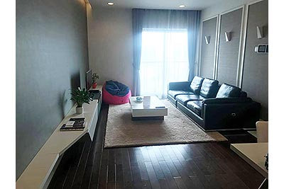 Lancaster Hanoi: Newly renovated 03BRs serviced apartments with balcony rental