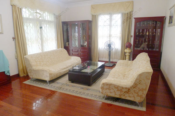 Large  garage, beautiful house for rent in Ba Dinh, Hanoi 8