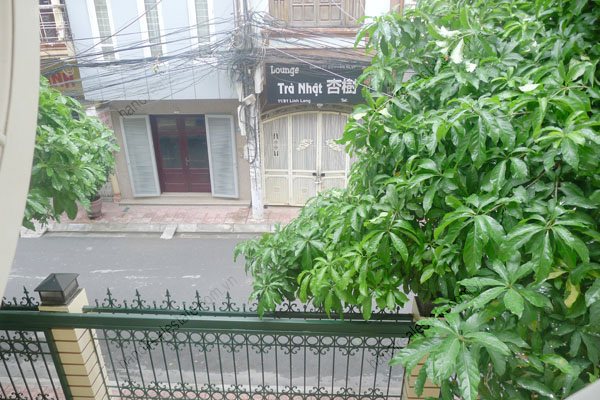Large  garage, beautiful house for rent in Ba Dinh, Hanoi 15