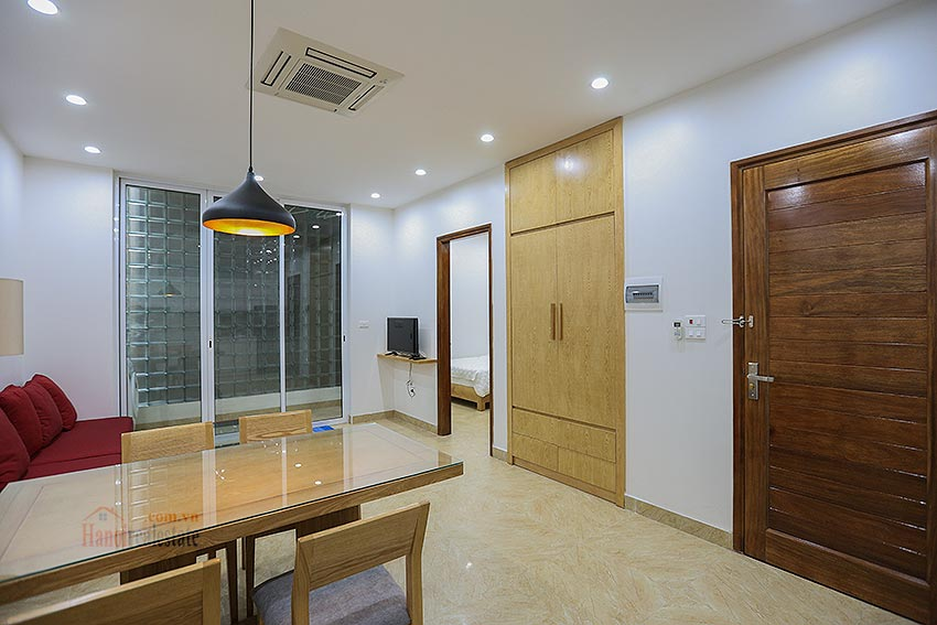 Lots of space apartment in a quiet alley, Dang Thai Mai, brand new 1
