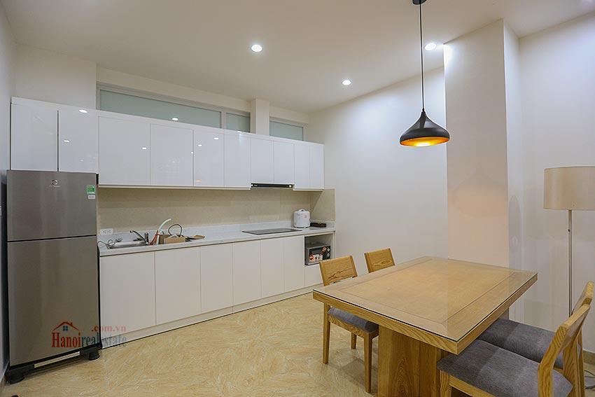 Lots of space apartment in a quiet alley, Dang Thai Mai, brand new 6