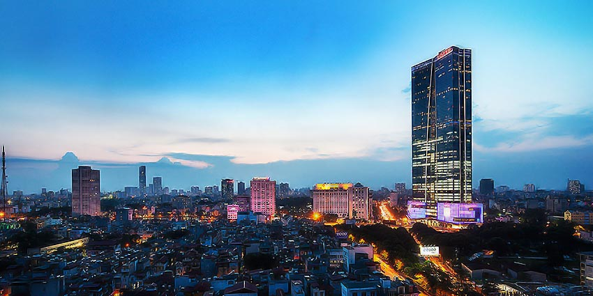 Lotte Hanoi - Serviced Apartments for rent: CIty view