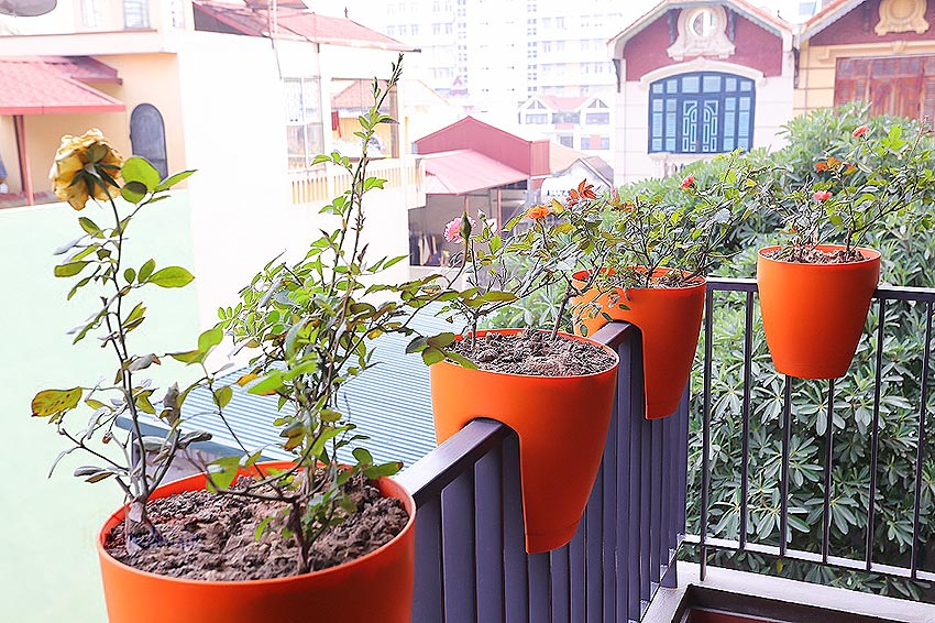 Lovely 01BR apartment at Hoang Quoc Viet, balcony 12