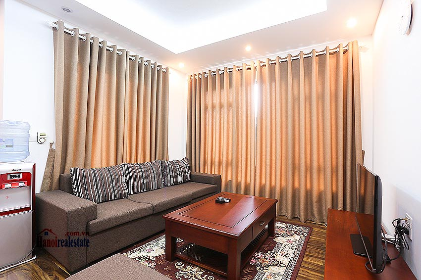 Lovely 01BR apartment at Hoang Quoc Viet, balcony 2