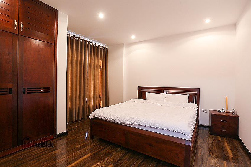 Lovely 01BR apartment at Hoang Quoc Viet, balcony 7