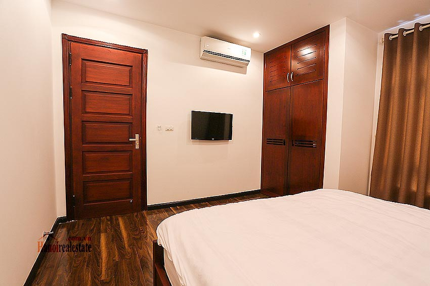 Lovely 01BR apartment at Hoang Quoc Viet, balcony 9