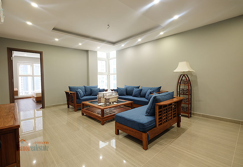Lovely 02BRs apartment at L3 Ciputra, renovated with opened kitchen 5