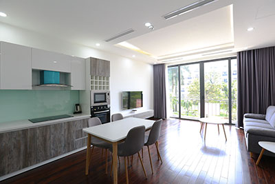 Lovely 02BRs apartment on Tu Hoa St, short walk to Westlake
