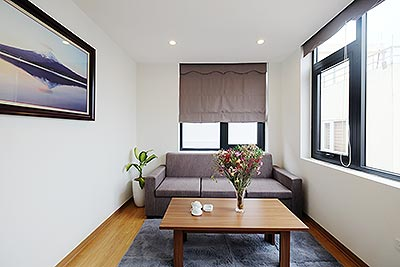Lovely Japanese style 02BRs apartment at Linh Lang St, near Lotte Tower