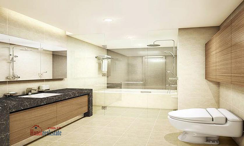 Luxurious 03BRs serviced apartment to lease at Lotte Residence 4