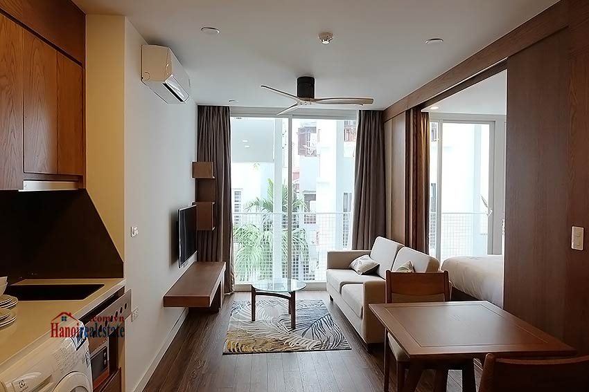 Luxurious Japanese style apartment for rent in Dao Tan, Ba Dinh