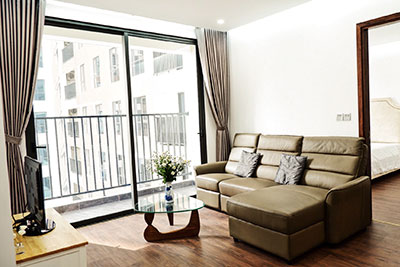 Luxury and brandnew 6th Element Apartment for rent: 02 bedroom with large square
