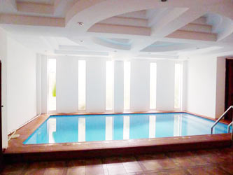 Nice House for rent in To Ngoc Van includes private Pool and Yard