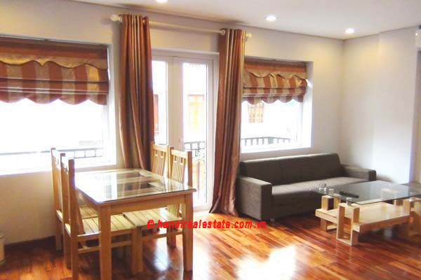 Luxury Japanese style apartment for rent in Kim Ma Street, studio ...