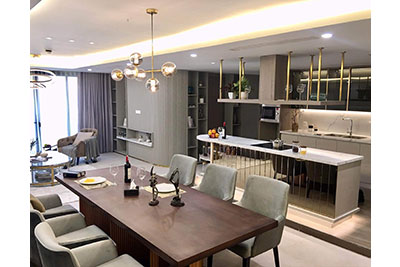 Luxury Westlake view 03BRs apartment at D'Leroi Soleil on Xuan Dieu