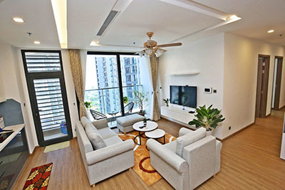 Metropolis: A bright and comfy 04BRs apartment on high floor of M1, fully furnished