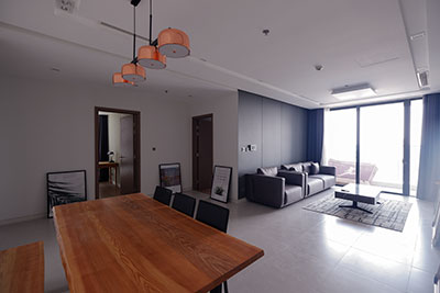 Metropolis: Dandy 03BRs apartment on high floor of M2 with stunning lake view