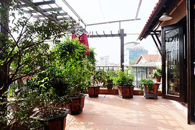 Modern 02 bedroom house to rent in Hoan Kiem, lovely terrace