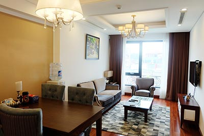 Modern 02 BRs apartment to let in Hai Ba Trung, fully furnished