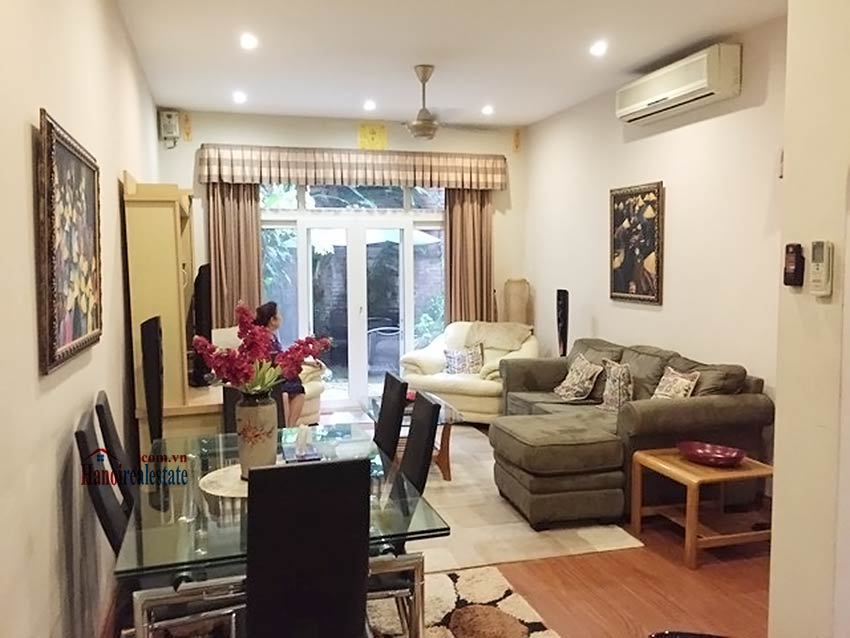 Modern 03BRs house for rent in Hai Ba Trung with terrace and furnished 1